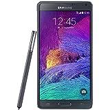 """Samsung Galaxy Note 4 - Smartphone de 5.7"""" (2560 x 1440 pixeles, Super AMOLED, 2,7 GHz, 3072 MB), negro - [Importado de Alemania]"""