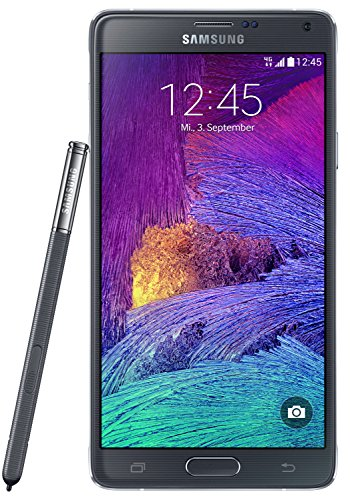 Samsung Galaxy Note 4 Smartphone (5,7 Zoll (14,5 cm) Touch-Display, 32 GB Speicher, Android 4.4) schwarz (Samsung Tasche Galaxy Note 2)