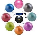 PEZZIBALL MAXAFE SET Gymnastikball + Schale + Pumpe, 42, 53, 65, 75 cm, ALLE Farben