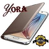 YORA Premium Leather Flip Cover Case For Vivo V7 Plus