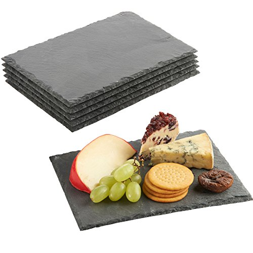 vonshef-set-of-6-mini-slate-cheese-boards-for-dinner-parties-and-entertaining
