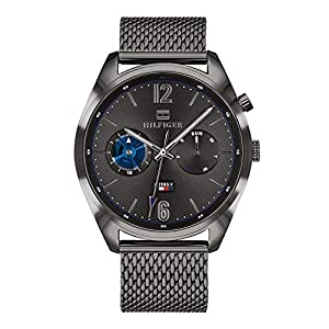 Tommy Hilfiger Mens Multi dial Quartz Watch with Stainless Steel Strap 1791546