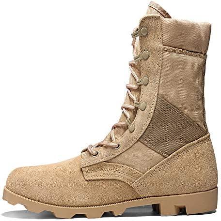 HCBYJ scarpa PU Stivali Militare Stivali da Uomo Tattici Stivali da  Combattimento Ultra Leggero Estate ventilatori 9a667cf7f7d