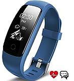 Fitness Armband, Aneken Fitness tracker mit Herzfrequenz, Schrittzähler...