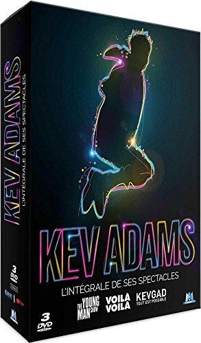 Kev Adams - L'intégrale des Spectacles : The Young Man Show + Voilà Voilà + Tout est Possible - Coffret DVD