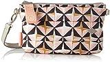 Oilily Damen Ruffles Geometrical Shoulderbag Mhz 1 Schultertasche, Pink (Rose), 2x15x25 cm