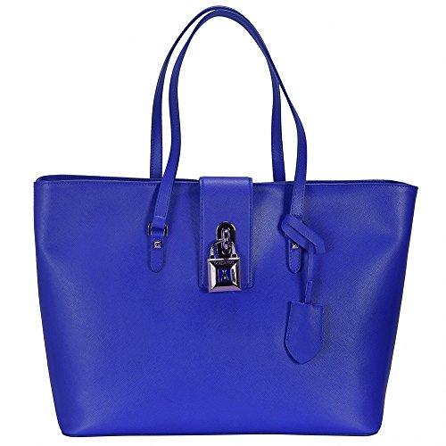 Patrizia Pepe Lock Fly Sac à main - Fourre-tout cuir 37 cm modern blue