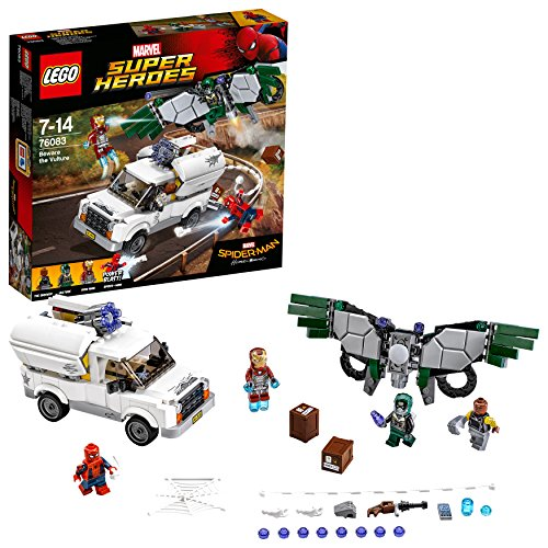 LEGO Marvel Super Heroes 76083 - Hüte dich vor Vulture, - Lego Far From Home