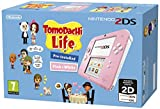 Nintendo 2Ds -  Consola, Color Rosa + Tomodachi Life