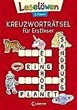 Leselöwen Kreuzworträtsel für Erstleser - 2. Klasse (Rot)