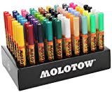Molotow MO200188 ONE4ALL 127HS Display Set 'Complete', 70 Acrylmarker, 2mm Spitze, sortiert