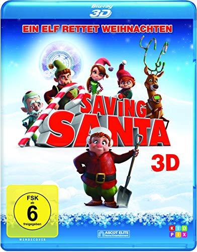 Saving Santa - Ein Elf rettet Weihnachten [3D Blu-ray]