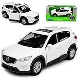 alles-meine.de GmbH Mazda CX-5 KE SUV Weiss 1. Generation 2011-2017 ca 1/43 1/36-1/46 Welly Modell Auto