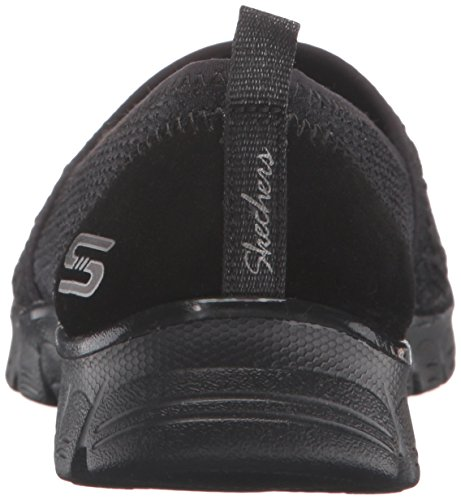 Skechers Ez Flex 3.0 Big Money, Baskets Basses Femme Noir