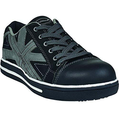 ruNNex Sicherheitshochschuhe S3 SportStar Halbstiefel in Sneaker-Optik Größe 37, schwarz, 5342 (Nubuk-star)