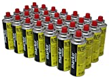28x Butane Camping Stove Gas Bottles Canister Refills