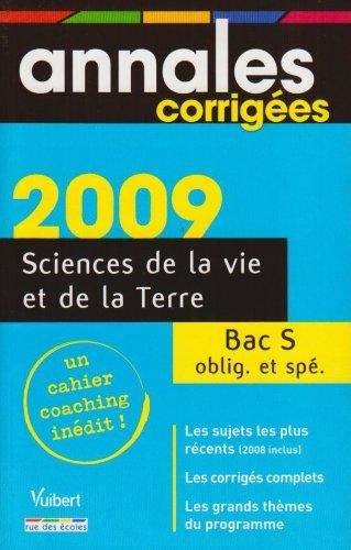 Sciences de la Vie et de la Terre Bac S