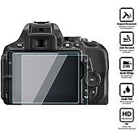 BlueBeach® Paquet de 2 Protection d'écran Protecteur en verre trempé pour Nikon D5600 DSLR (0.3mm 2.5D 9H Dureté)