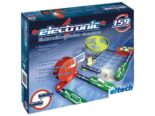 Eitech 00159 00159-Experimentierbaukasten Elektronik Set, 25-teilig, Multi Color