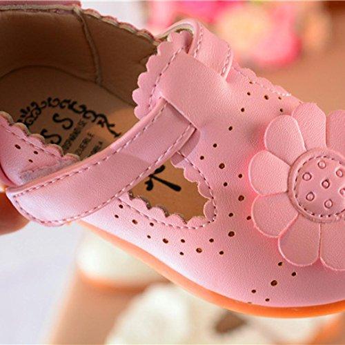 Baby Schuh, Switchali Kinder Blumen Schuhe Prinzessin Single Schuhe Rosa