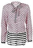 Emily van den Bergh Damen Bluse Größe 38 Rot (rosa)