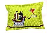Pirat Mini Kuschelkissen mit Namen