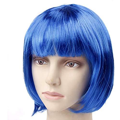 Short Bob Haar-Perücken synthetische Perücke Mode-Haar-Zusatz für Party 11