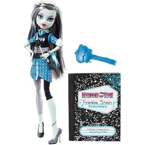 Monster High V7989 - Muñeca Frankie Stein con diario monstruoso (Mattel) [importado]