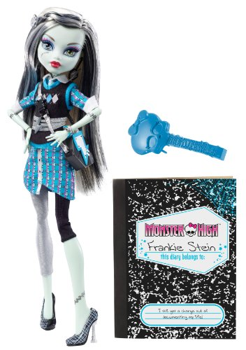 Mattel V7989 - Monster High Frankie Stein - Frankensteins Tochter (Haustier Bominable Abbey)