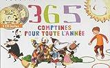 365 comptines pour toute l'année (2CD audio)