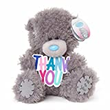 Soft Grey Me To You Small Plush Tatty Teddy Bear Thank You Plaque