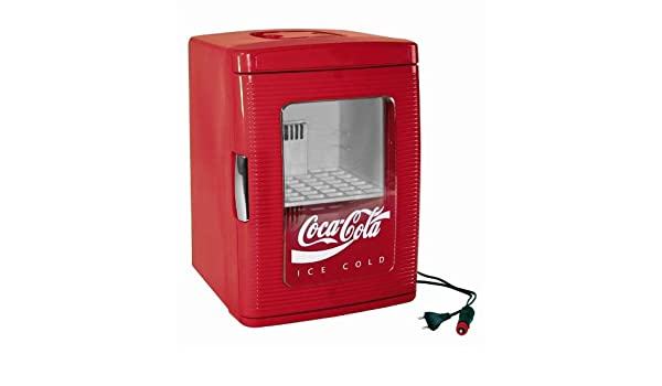 Kühlschrank Cola Design : Coca cola mini kühlschrank minifridge 25 von ezetil 12 230 volt