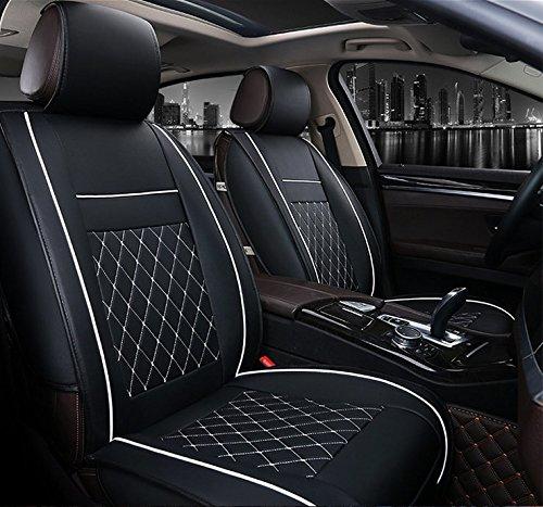 nuova pelle Coprisedile per auto per Qubo NEW Croma 500 Grande Punto Bravo Sedici
