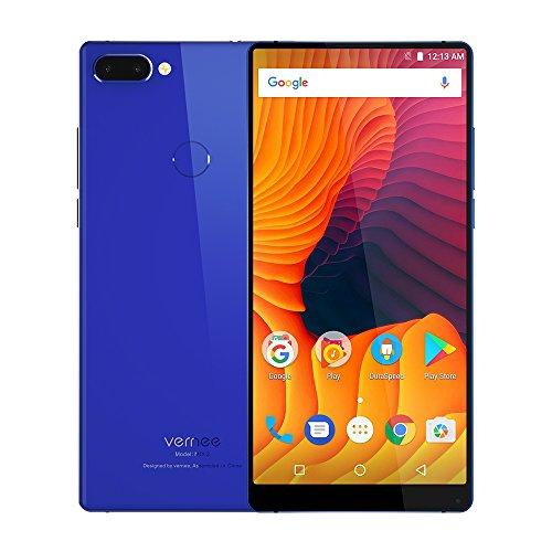 Vernee MIX 2 Smartphone de 6 Pulgadas FHD + 2160 * 1080 Pixels Helio P25 Octa core 6GB RAM 64GB ROM 13MP + 5MP Cámaras Traseras Duales + 8MP Front Camera Front and Back Glass Design 4200mAh Battery