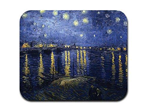 Starry Night Over the Rhone–Vincent van Gogh Mousepad Mauspad