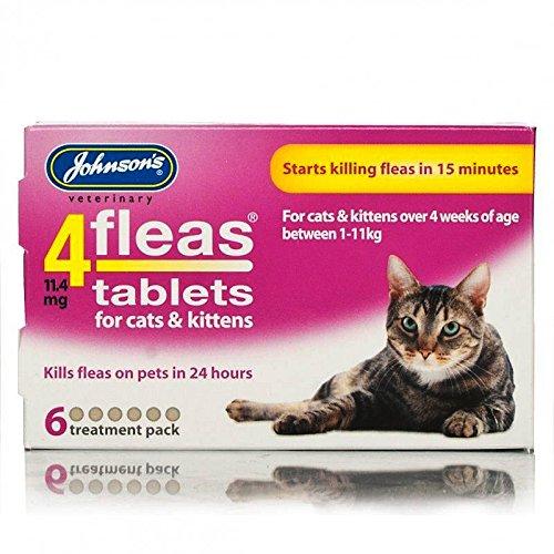Johnsons's 4fleas comprimidos para...