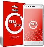 nandu I ZenGlass Flexible Glas-Folie für Nokia 3 Panzerfolie I Bildschirm-Schutzfolie 9H I (Kleiner Als Das Gewölbte Bildschirm)
