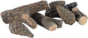 Rustikaler Charme: Ein Hauch echter Natur rund um Ihr Deko-FeuerVerleiht Ihrem Bio-Ethanol-Ofen den unwiderstehlichen Charme eines  echten Holz-Kamins!  Die Dekorations-Äste und -Tannenzapfen daneben legen - die Wirkung ist perfekt.Die  naturechten u...