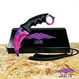 Karambit - Doppler Phase 2 - Counter-Strike Globale Offensive - Real CSGO Knife Skin - Sammelmesser - Top Qualität - Jagdmesser - Survival Messer - CSGO Messer - CSGO IRL - JARL