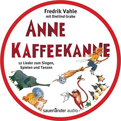 Anne Kaffeekanne: 12 Lieder zum Singen, Spielen und Tanzen. CD in runder Metalldose Anne Music Box
