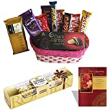 Branded Chocolate Hamper With Anniversary Card 4 Pieces Ferrero Rocher Chocolate Wedding Gift Anniversary Chocolate...