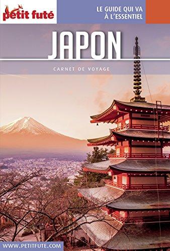 Couverture du livre Japon 2016 Carnet Petit Futé