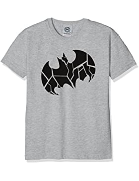 DC Universe Jungen T-Shirt Dc Comics Batman One Colour Shield