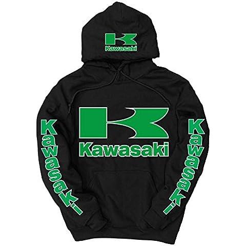 Kawasaki -  Felpa con cappuccio  - Uomo - Chevy Truck T-shirt