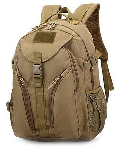 ZQ 35 L Rucksack Camping & Wandern Draußen Multifunktions Schwarz / Braun Nylon Other Khaki