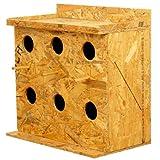 #7: Amijivdaya Wooden Bird House Square