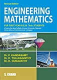 Engineering Mathematics for first year B.E./B.Tech. covers the new syllabi of all Anna Universities,Deemed Universities and Autonomous Colleges.