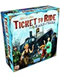 Days of Wonder Jeu de société Ticket to Ride Rails et Sails