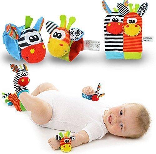 Calcetines de sonajero - Calcetines de bebé - Sozzy New Born Baby...
