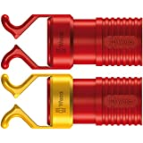 Wera 05018500001 Screw Claw Set 1440/1442 Red for VDE Screwdrivers